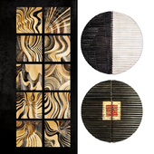 Wooden panel. Collection 60