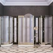 Devon & Devon Arabesque Shower Trays with Stalls