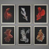 Set of paintings 43