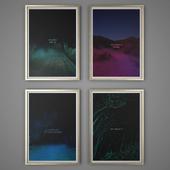 Set of paintings 45