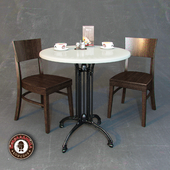 """Furniture for cafe """"Chocolate"""""""