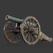12 pood Russian artillery of 1805