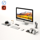 Workplace Silver IMac