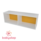OM Children's shelving babystep Classics, 400 horizontal