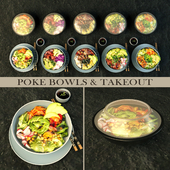 Pokebowl and takeout