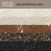 Decor Marmi - Rose KREOO Bas-relief