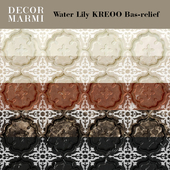 Decor Marmi - Water Lily KREOO Bas-relief