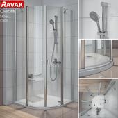 Semi-circular shower Ravak Chrome