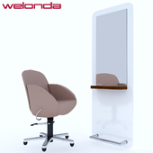 Weloda vida chair and style mirror