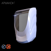 Dispenser for liquid soap Armakon