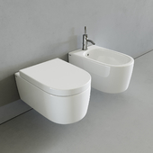 Toilet and bidet Smile by Cielo