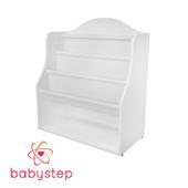 OM Children's book shelf babystep Classics, 800 floor with textile shelf