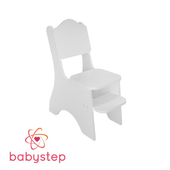 OM Children's chair babystep Classics, with adjustable footboard
