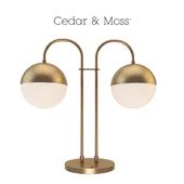 Table lamp cedar moss table lamp too