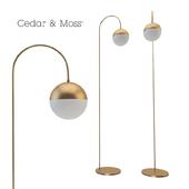Torcher Cedar & Moss Floor Lamp