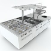 Modular Sensation cooking island