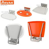 Shower sets Ravak OVO set 04