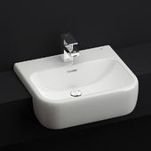 Recessed washbasin RAK Metropolitan