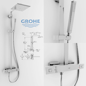 Grohe Euphoria Cube XXL Shower System