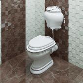 Toilet bowl Migliore Milady ML.MLD-25.711.BI