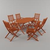 Boston Garden Furniture Set