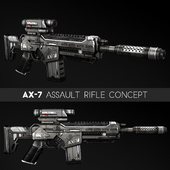 AX-7 Assault Rifle