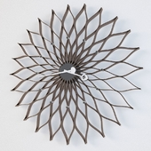 Wall clock - Sunflower Clock by Vitra