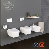 Villeroy & Boch collection Avento toilet bowl, bidet