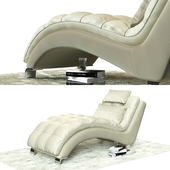 Leather couch № 1811 W