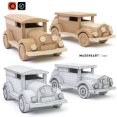 Toy cars, wooden