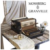 Mossberg & Granville Typewriter