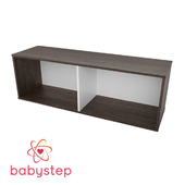 OM Children's shelving babystep Loft, 400 horizontal
