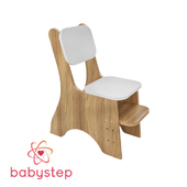 OM Chair childrens babystep Feast, with adjustable running board