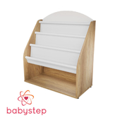 OM Shelf children's book babystep Holiday, 800 floor with textile shelf