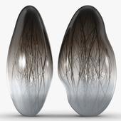 Vessel Gallery - Ore genesis in pigeon gray