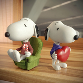 Snoopy's dog. To the contest