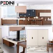 Pedini Living in the Kitchen