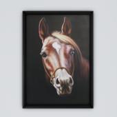 Картина с лошадью