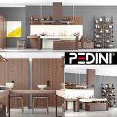 Pedini Living in the Kitchen 01