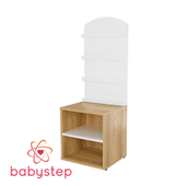 OM Children's shelving babystep Holiday, 1100 for music library