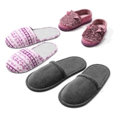 A set of slippers