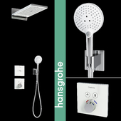Hansgrohe Shower Rainmaker Select 580 3jet