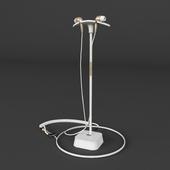 Headphones on the pedestal + obj (Vray + Corona)