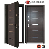 Entrance metal door EnterDoor TechnoLux