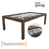 Fusion Table -WOOD-LINE TABLE