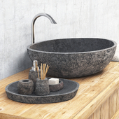 Stone washing / Stone washbasin