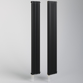 Heating radiator black