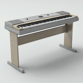 YAMAHA synthesizer.