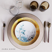 Zara  Home table set