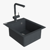 Franke Maris Sink MRG 610 42 Fragranite Onyx